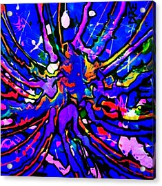 #fluorescents #fantasy #artisticbliss Acrylic Print