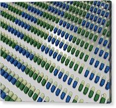 Fluoxetine Capsules Acrylic Print by Robert Brook