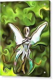 Flutter Fly Acrylic Print