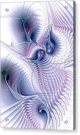 Flux Acrylic Print by Anastasiya Malakhova
