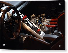 Acrylic Print featuring the photograph Flux Capacitor by John Schneider