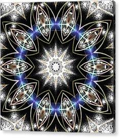 Flux Magnetism Acrylic Print