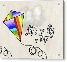 Fly A Kite Acrylic Print by Amy Cummings