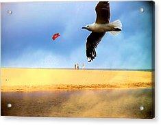 Fly A Kite Acrylic Print