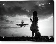 Fly Again Acrylic Print