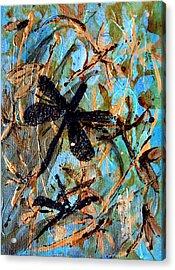Fly Away Acrylic Print by Jo Anne Wyatt