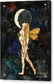 Fly By Night Acrylic Print by Nora Blansett