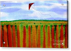 ...fly For Peace And Freedom... Acrylic Print by Jutta Gabriel