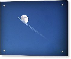 Fly Me To The Moon Acrylic Print