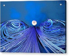 Fly Me To The Moon Acrylic Print by Michael Durst