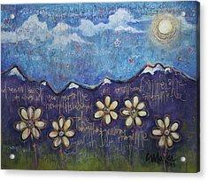 Fly On My Love Acrylic Print