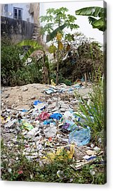 Fly-tipped Waste Acrylic Print