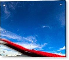 Flyby Volcano Acrylic Print