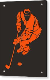 Flyers Shadow Player3 Acrylic Print by Joe Hamilton