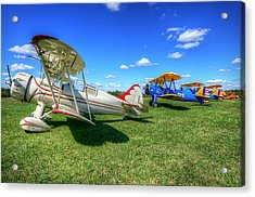 Acrylic Print featuring the photograph Flying Circus by Michael Donahue