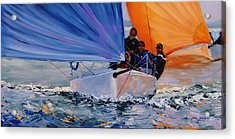 Flying Colors Two Acrylic Print