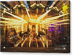 Flying Horses Carousel  Acrylic Print