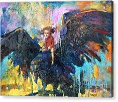 Flying In My Dreams Acrylic Print by Michal Kwarciak