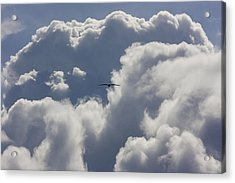 Flying Into The Storm Acrylic Print