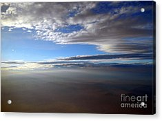 Flying Over Southern California Acrylic Print