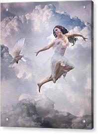 Flying Together Acrylic Print by Gun Legler