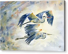 Flying Together Acrylic Print