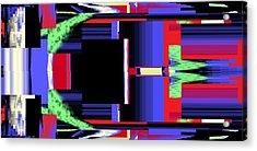 Fm Radio  Acrylic Print by Cletis Stump
