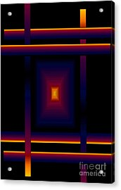 Acrylic Print featuring the digital art Focal Point by Gayle Price Thomas
