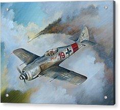 Focke Wulf Fw-190 Acrylic Print