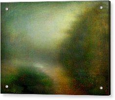 Acrylic Print featuring the photograph Fog #3 - Silent Words by Alfredo Gonzalez