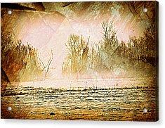 Fog Abstract 5 Acrylic Print by Marty Koch
