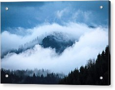 Fog After Storm Acrylic Print by Katie Wing Vigil