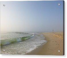 Fog And Blue Sky 2 Acrylic Print