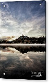 Acrylic Print featuring the photograph Fog At East Lake Winona by Kari Yearous