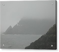 Fog At The Coast Acrylic Print by Yvette Pichette