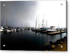 Acrylic Print featuring the photograph Fog Bank by Joseph Hollingsworth