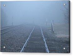 Fog Acrylic Print by DEM Photos