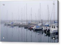 Fog In Marina I Acrylic Print