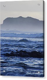 Acrylic Print featuring the photograph Fog Rolling In by Adria Trail