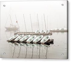 Fogged In Acrylic Print by Bob Orsillo