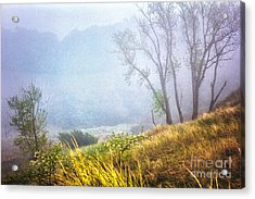 Foggie Dune Colored Acrylic Print
