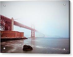 Acrylic Print featuring the photograph Foggy Bay by Brian Bonham