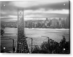 Foggy City Of San Francisco Acrylic Print