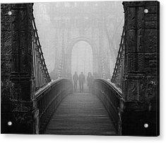 Foggy Day(they) Acrylic Print by Catalin Alexandru