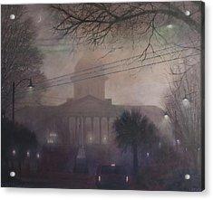 Foggy Dome Acrylic Print
