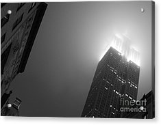 Foggy Empire Acrylic Print