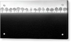 Foggy Flevopolder Acrylic Print