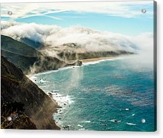 Foggy Lookout Acrylic Print