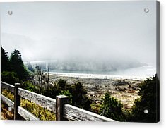 Foggy Mendocino Morning Acrylic Print