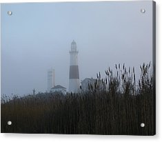 Foggy Montauk Lighthouse Acrylic Print